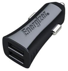 Energizer CAR KIT Autós töltő, Fekete