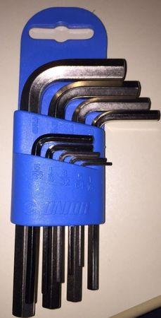 Unior garnitura inbus ključev na plastičnem obešalu - 220/3PH (617081)