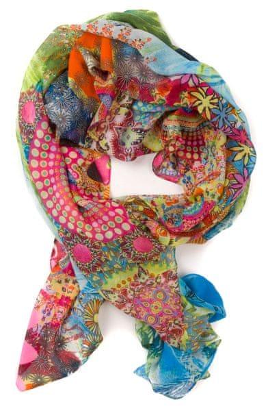 Desigual dámský vícebarevný šátek Rectangle Kotao
