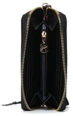 Desigual ženski novčanik crna Mini Zip New Emma
