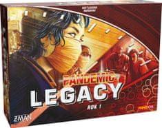 Mindok Pandemic Legacy: Červený