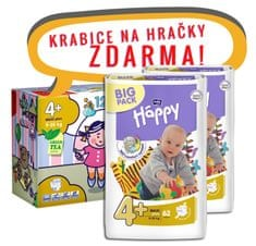Bella Happy Pieluchy Maxi Plus Big Pack - 124 szt
