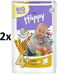 Bella Happy Pieluchy Maxi Plus Big Pack - 124 szt