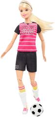 Mattel Barbie sportovkyně fotbalistka