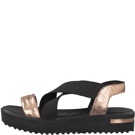 Tamaris ženski sandali 39 črna