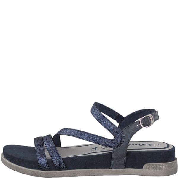 Tamaris dámské sandály 38 modrá