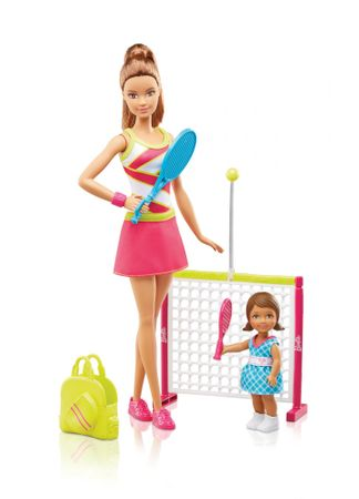 Mattel Barbie športový set tenistka