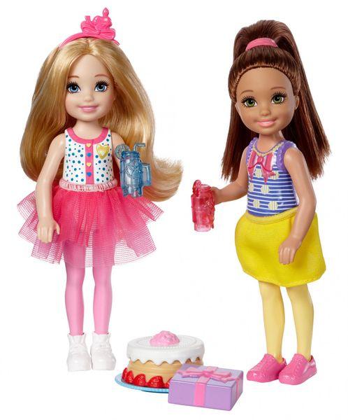 Mattel Barbie Víla Chelsea dvojitý set narozeninová party