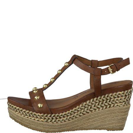 Tamaris ženski sandali 38 rjava
