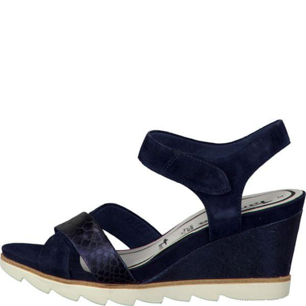 Tamaris dámské sandály 37 modrá