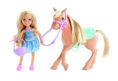 Mattel Barbie Siostra Chelsea i Kucyk DYL42