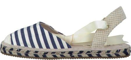 s.Oliver dámské sandály 36 modrá