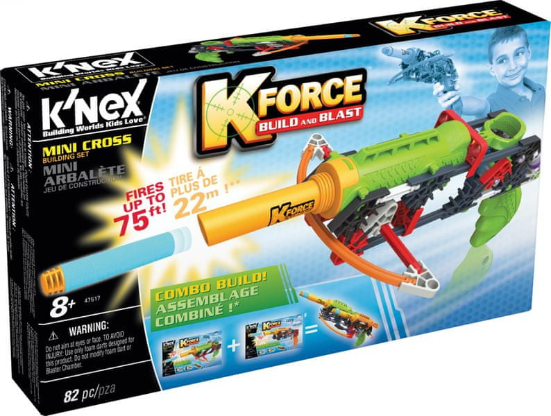 K´NEX Stavebnice pistole Mini Cross