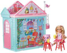 Mattel Barbie Víla Chelsea a domeček