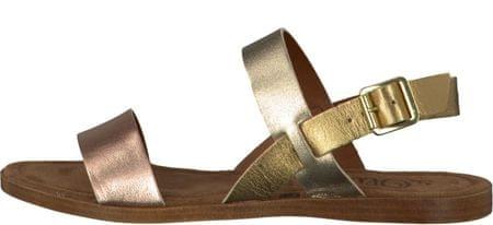 s.Oliver ženske sandale 41 zlatna