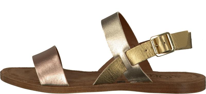 s.Oliver dámské sandály 41 zlatá