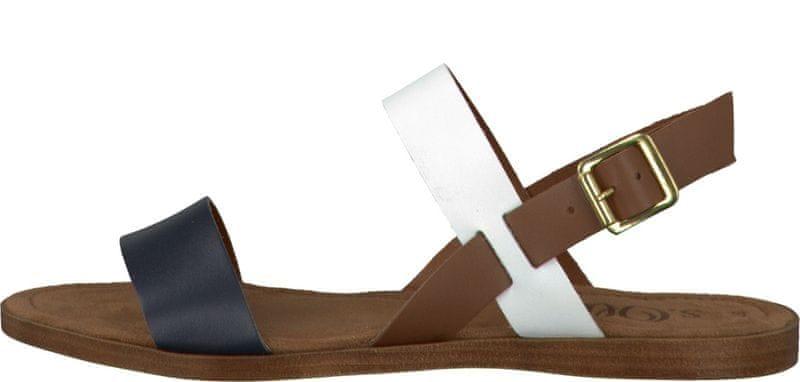 s.Oliver dámské sandály 41 hnědá