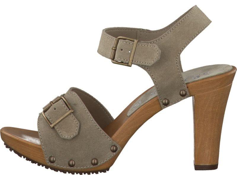 s.Oliver dámské sandály 36 béžová