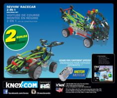 K´NEX Zestaw samochód wyścigowy Revvin 2w1