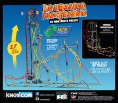 K´NEX Zestaw Roller Coaster, Electric Inferno