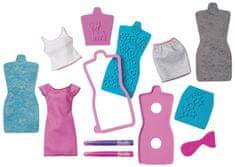 Mattel Barbie DIY Módne návrhárske štúdio modro-fialové
