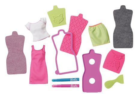 Mattel Barbie DIY Studio projektowe różowo- zielony