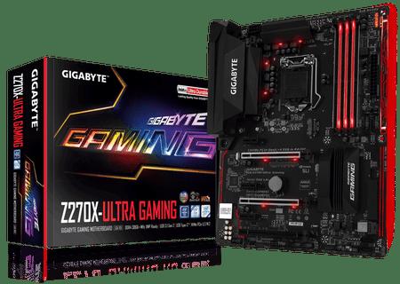 Gigabyte osnovna plošča GA-Z270X-Ultra Gaming LGA1151 ATX