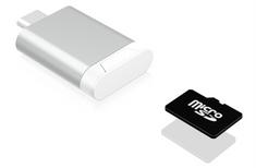 IcyBox čitalnik microSD/SDHC kartic IB-CR100 na USB 3.0 Type-C
