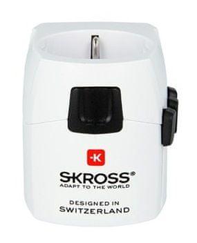 Skross Cestovní adaptér World PRO Light, bílá