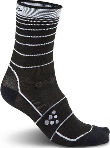 Craft Ponožky Gran Fondo Černá 43-45
