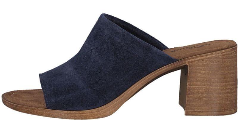 s.Oliver dámské pantofle 41 modrá