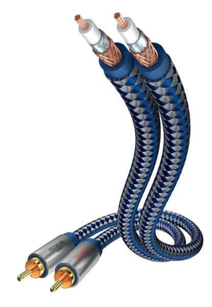 Inakustik Premium kabel 2x RCA, 0,75 m