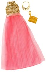 Mattel Barbie Šaty a doplňky lesklé šaty