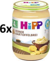 HiPP BIO Jemná bramborová kaše - 6x190g