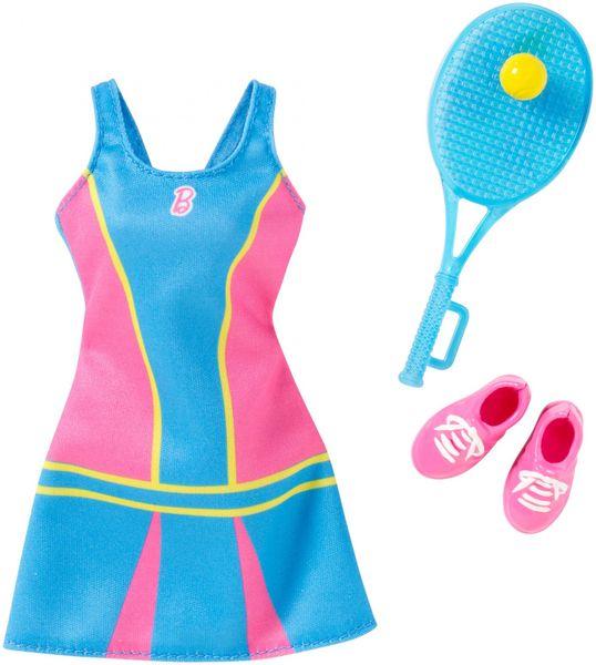 Mattel Barbie Profesní oblečení tenistka