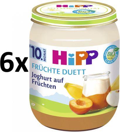 HiPP BIO Jogurt s ovocem - 6x160 g