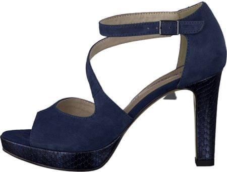 s.Oliver sandały damskie 39 niebieski