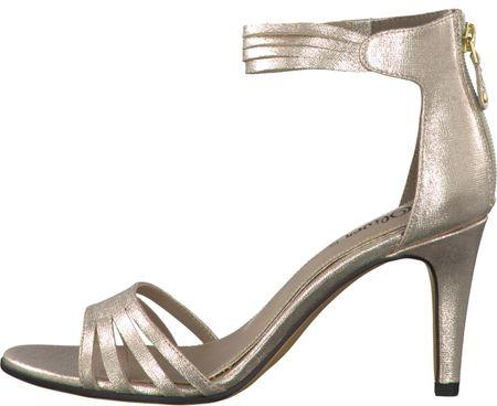 s.Oliver dámské sandály 40 zlatá