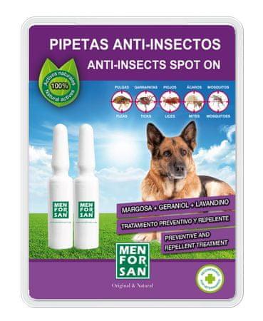 Menforsan antiparazitna pipeta, 2 komada, 100% prirodno