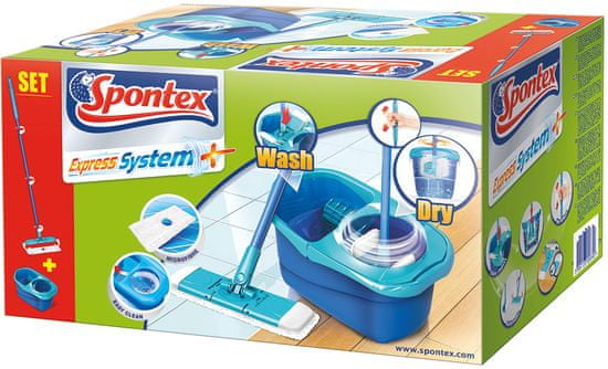Spontex 97050273 Express Systém Plus úklidový set