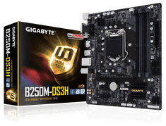 Gigabyte osnovna plošča GA-B250M-DS3H, LGA1151 mATX - odprta embalaža