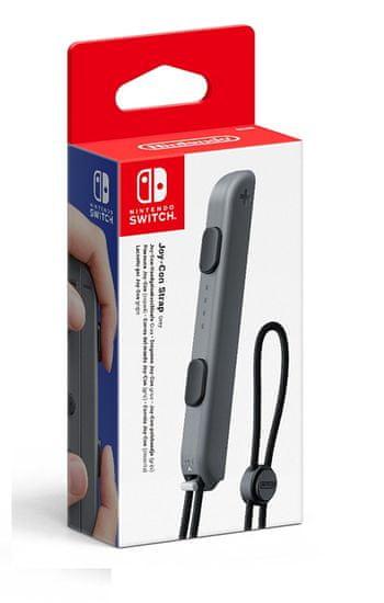 Nintendo Switch Joy-Con Strap šedý / Switch