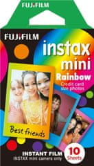 FujiFilm Instax Film Mini Rainbow rámeček (10ks)