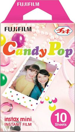 FujiFilm Instax Mini Film, Candy Pop, (10 db)