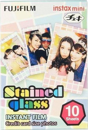 FujiFilm mini papir Instax, Stained Glass, 10/1