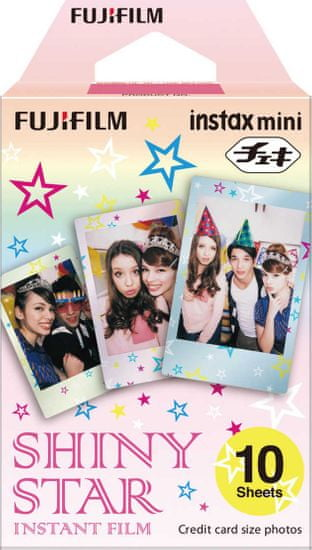 FujiFilm Instax Mini Film, Shiny Star, (10 db)