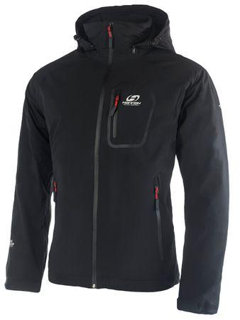 Hannah Guton Férfi kabát, Fekete, XL