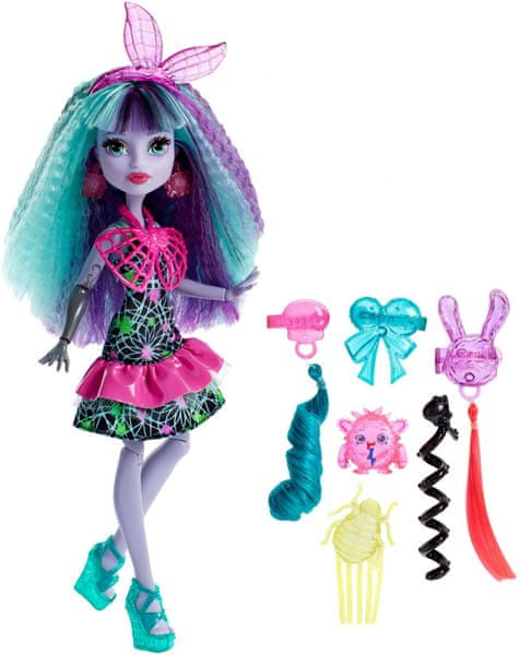 Monster High Twyla s Monstrózními vlasy