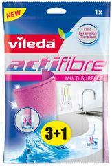 VILEDA Actifibre törlőkendő 3+1 db
