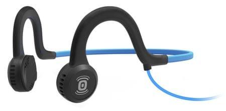 AfterShokz Sportz Titanium s mikrofonem, modrá